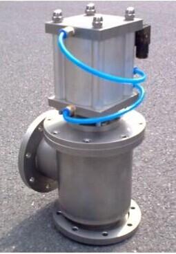 气动高真空挡板阀按轴封结构可分gdq-j型橡胶密封和